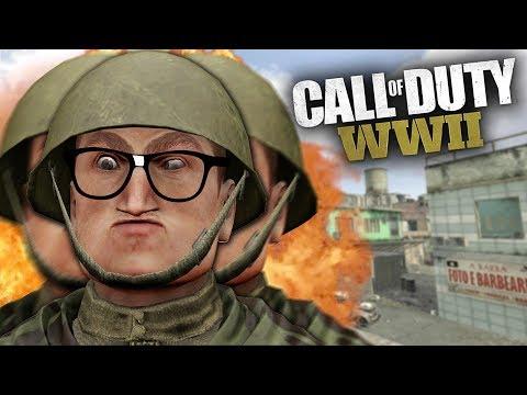TROLLING a Confused Nerd in Call of Duty WW2 (Echo Trolling)