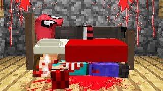 YATAĞIMIN ALTINDA 1000 YILLIK KORKUNÇ CANAVAR BULDUM! 😱 - Minecraft