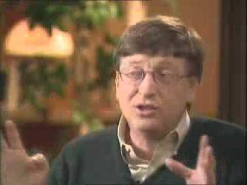 Bill Gates Interview - 1997 - Chris Long