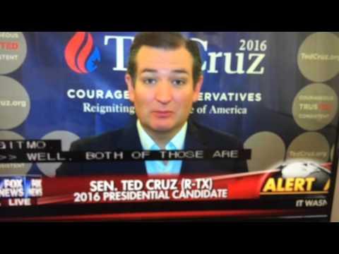 Ted Cruz - our enemies aren