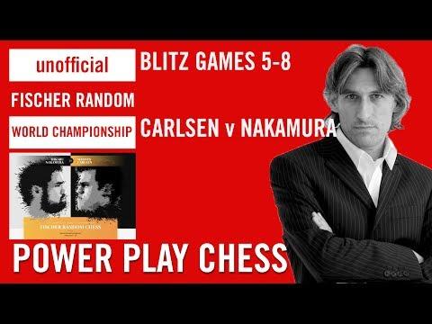 Unofficial Fischer Random Chess World Championship 2018 - Carlsen v Nakamura Blitz Games 5-8