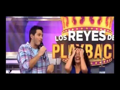 Se le ve el Calzón a Connie Chaparro Los Reyes del Playback