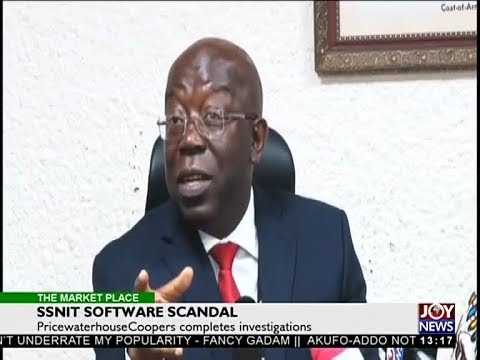 SSNIT Software Scandal - The Market Place on Joy News (18-4-18)