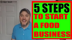 5 steps to start a #food business Start Selling Food Local #amazon
