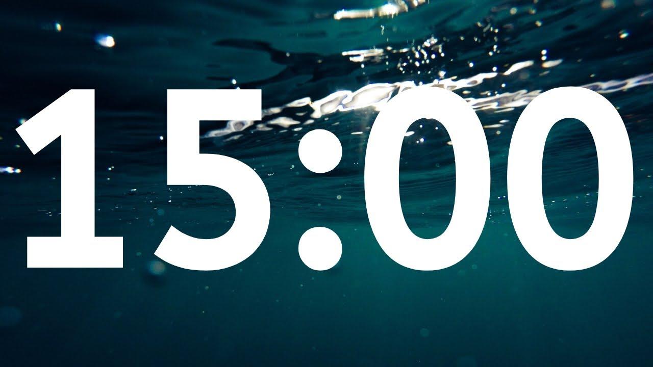15 Minute Timer l Underwater Timer For Kids l Calming Timer l Timer With  Photo & Image l Best Timer
