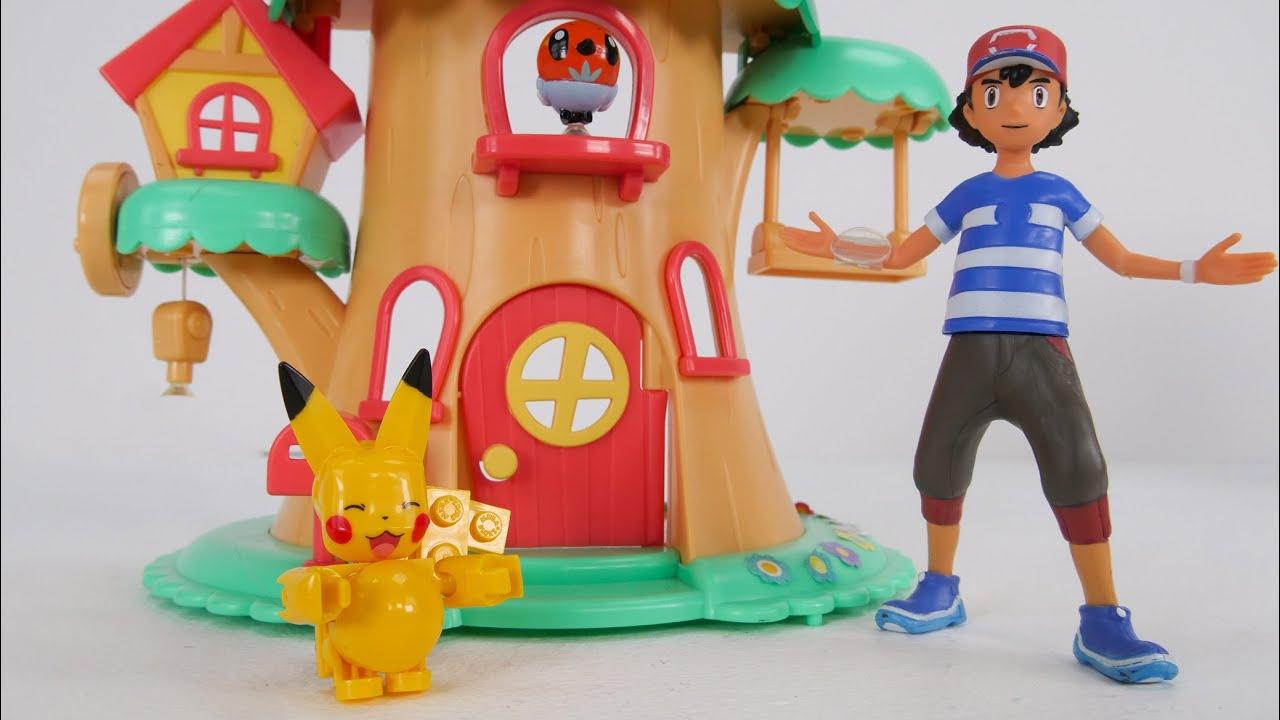 Pokemon बच्चों के लिए खिलौना सीखना वीडियो - Learn Math, Subtracting, and Adding!