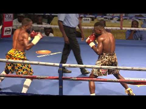 Chaos rock Bukom Boxing Arena after Wasiru Mohammed TKO Isaac Sackey