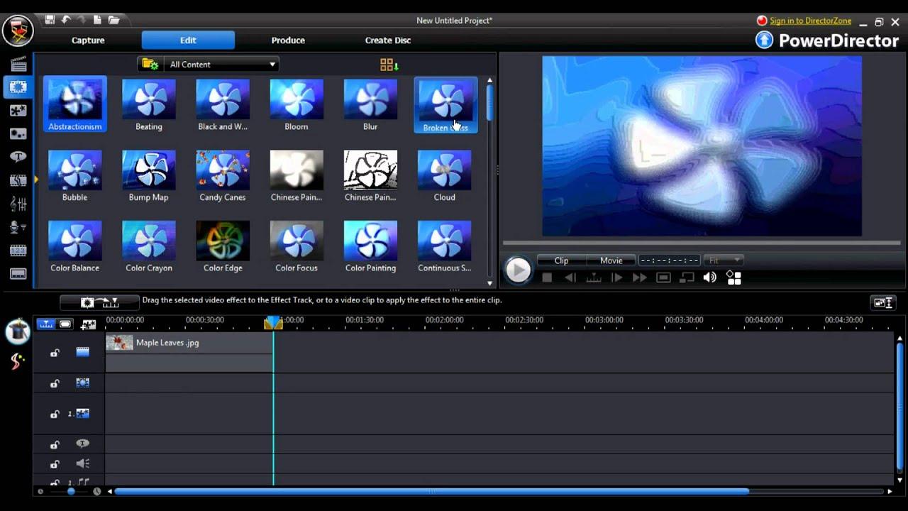 CyberLink PowerDirector 18 Ultimate Crack Serial Key