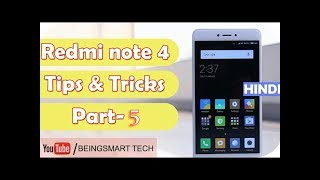 Redmi note 4 tips tricks and hidden features miui 9 tips and tricks hindi