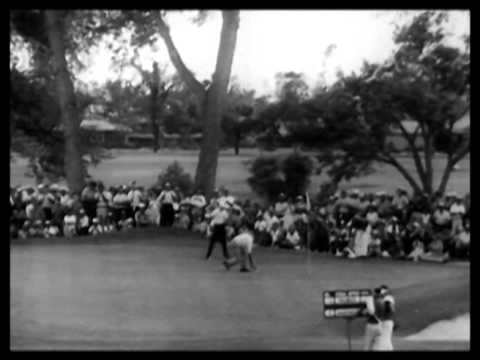 Arnold Palmer rallies to win U.S. open 1960