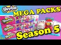 Shopkins Season 5 MEGA PACK Opening Search for Limited Edition and Electro Glo Shopkins