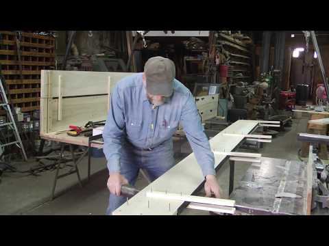 Rebuilding the International, wood wheel wagon, part 2
