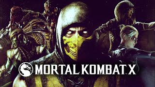 Стрим | Mortal Kombat X | Жёсткие онлайн бои, главы 5-8, башня силы и тайны Крипта.