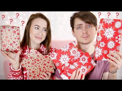 SURPRISE CHRISTMAS GIFT GIVING (With My Boyfriend) | Sophie Louise