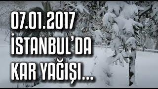 7 Ocak 2017 İstanbul Kar Manzaraları