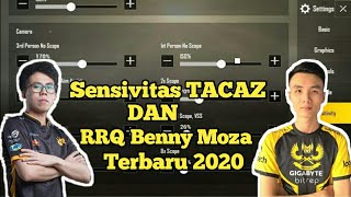 sensitivitas tacaz Dan Benny Moza Terbaru 2020