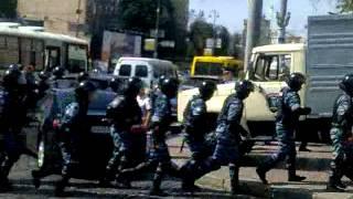 Беркут біля Українського дому 04.07.2012