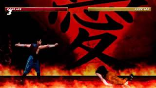 Mortal Kombat The Dragon Tournament 1 - Fatalities Demonstration