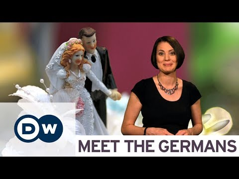 German wedding traditions you
