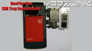 How to Replace the SIM Tray on a OnePlus One