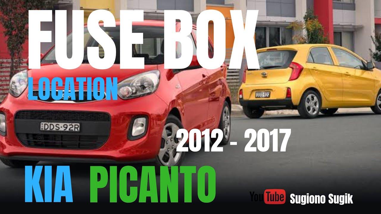 Kia Picanto Fuse Diagram