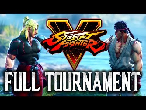 Street Fighter V: Red Bull Cup 2017 - Full Tournament! [TOP8 + Finals]