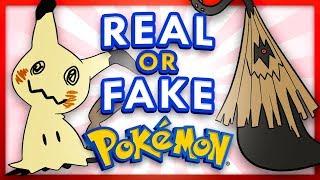 Real or Fake Pokemon 2