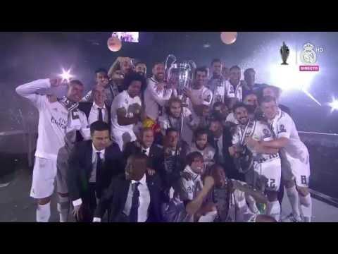 Real Madrid We are the Champions Bernabéu 2016