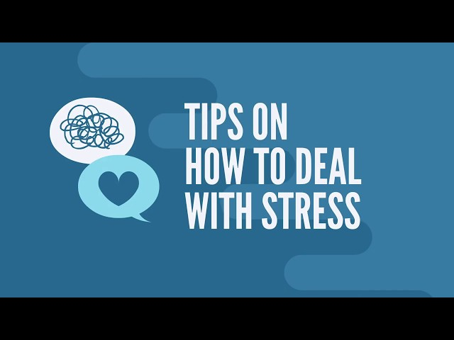 6 recommendations for dealing with stress during the COVID-19 pandemic