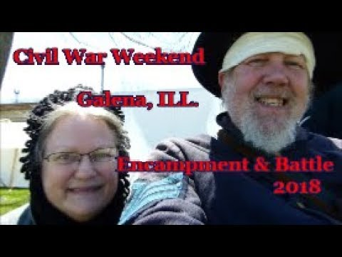 Civil War Weekend in Galena IL