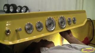 Speedway Motors Yellow T-Bucket Assembly