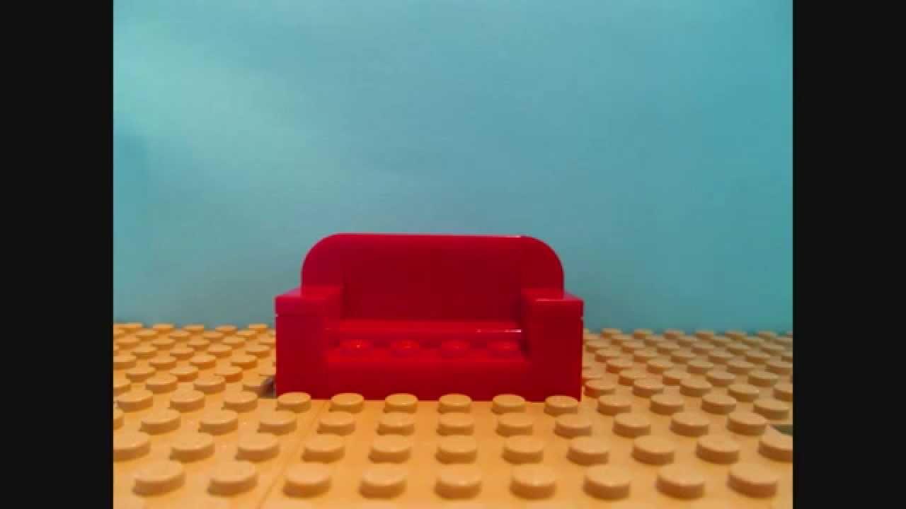 How To Build A Lego Sofa Youtube