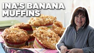 Barefoot Contessa's 5-Star Banana Crunch Muffins   Food Network