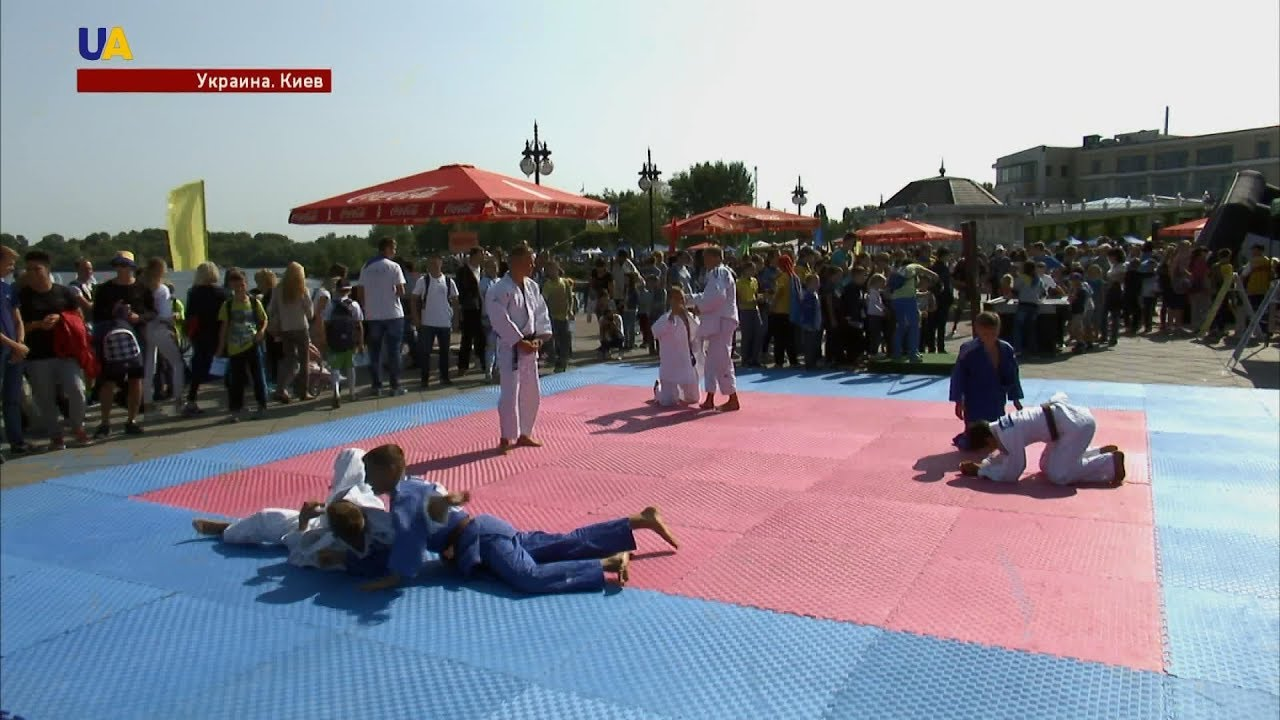 Олимпийские призёры провели мастер-классы по своим видам спорта