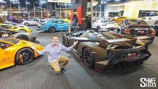 SUPERCAR SHOPPING at the Insane Showrooms in Dubai!
