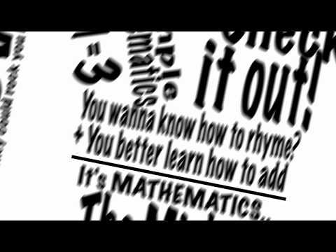 Mathematics - Mos Def Lyrics Video Kinetic Typography