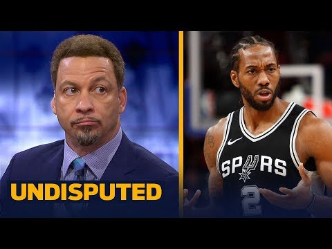 Chris Broussard on reports Kawhi Leonard requested trade from Spurs | NBA | UNDISPUTED