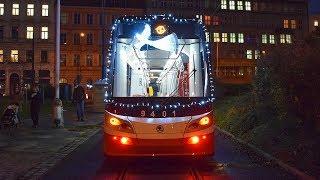 Rozsvícení Vánoční tramvaje 2017 - Praha