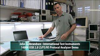 ITIC 1480A USB 2.0 LS/FS/HS Protocol Analyzer Demo