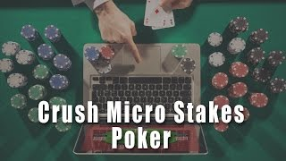 Pre-Flop Calling Ranges   Crush Micro Stakes Online Poker Course