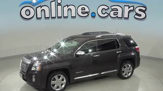A99099TA Used 2015 GMC Terrain Denali FWD 4D Sport Utility Gray Test Drive, Review, For Sale