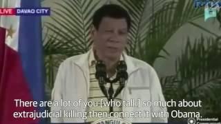 بالفيديو.. لحظة وصف رئيس الفلبين أوباما بـ«ابن العاهرة»