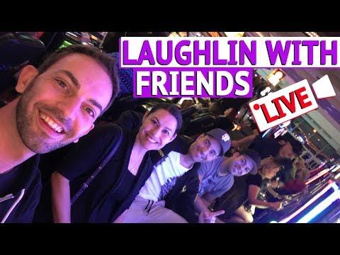 👫 Laughlin with Friends ✦ EPIC COMEBACK ✦ Live Gambling at Aquarius