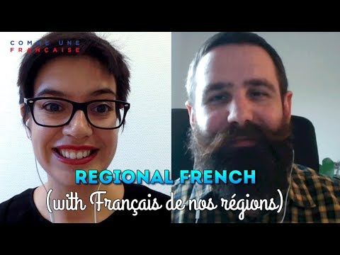 Regional Differences in the French Language
