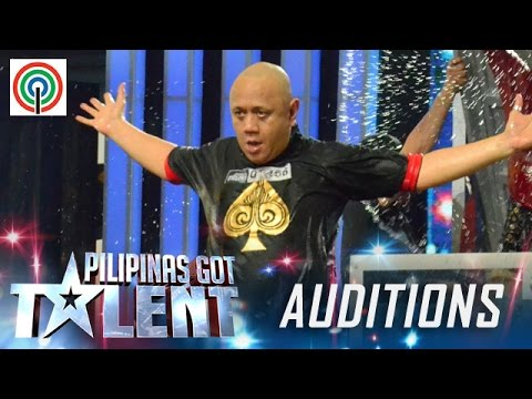 Pilipinas Got Talent Season 5 Auditions: Vernon De Vera – Water Tank Escape Artist