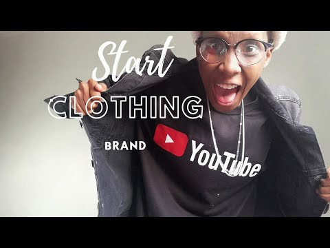 HOW TO START A CLOTHING BRAND FOR (BEGINNERS) | SOUTH AFRICA