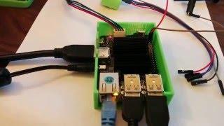 odroid c2 on 4k monitor running libreoffice
