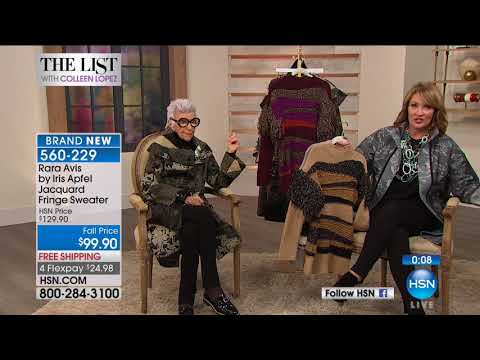 HSN | Iris Apfel: The List Special Edition 09.28.2017 - 09 PM