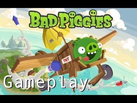 Bad Piggies - Gameplay Part 1 Ground Hog Day | WikiGameGuides