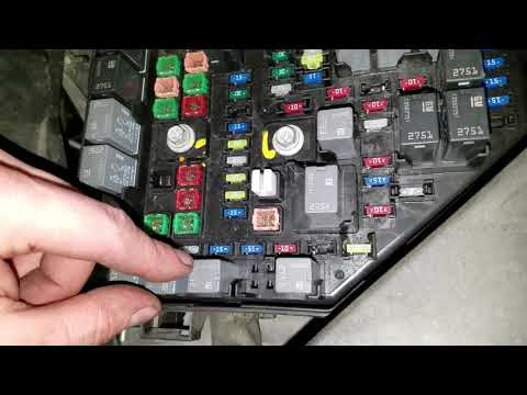 GMC Acadia AC Compressor Fuse And Relay Location